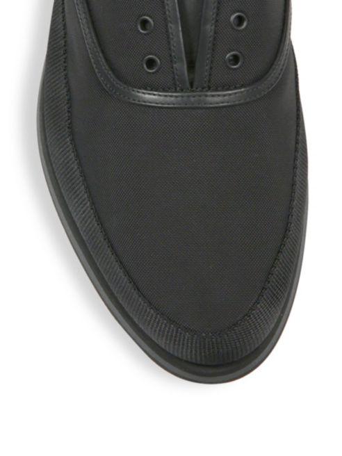 prevalent no sale tax dependable performance Prada Low Nylon top Sneakers Laceless wrwUAZ - inept ...
