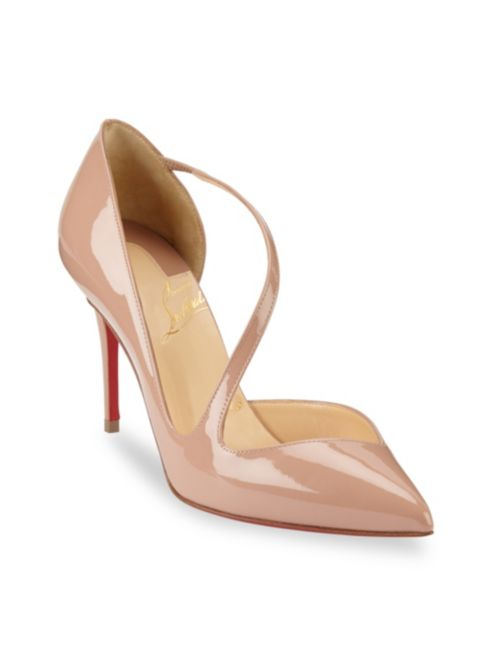 new arrival 7906b 0a795 Toe Louboutin Christian Jumping Point Pumps 85 zIOxqS ...