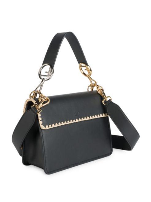 e9ba25f100e6 ... I Kan Fendi Leather Trimmings Embroidery With Raffia Bag And Shoulder F  5ZOwHdOq