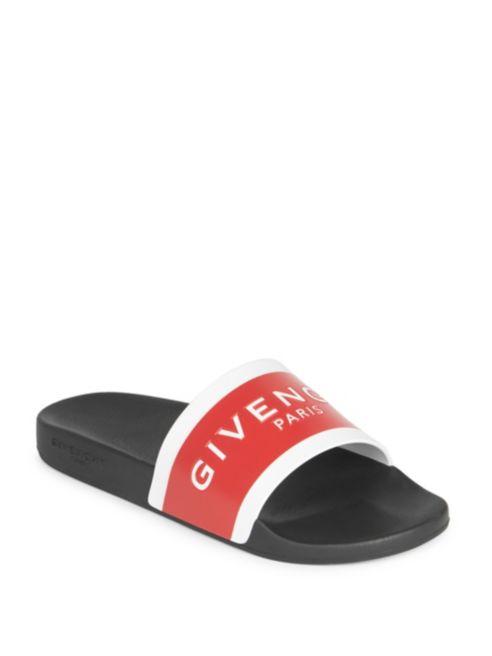 9966afe1463a Rubber Givenchy Logo Givenchy Logo Slides Rubber df0wIqwxv in ...