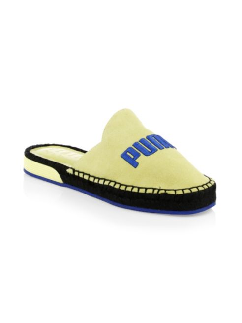 premium selection 43815 5f2ad X Suede Fenty Puma Espadrilles Backless R6qxTTY - inept ...