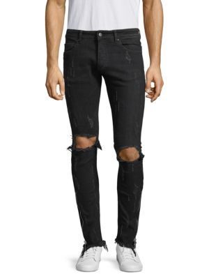 Distressed Skinny Jeans by Palm Angels