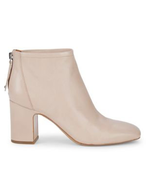 Jacoby Block Heel Leather Booties by Sarto By Franco Sarto