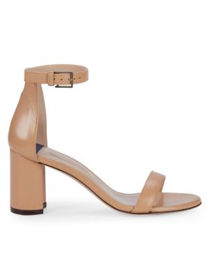 Adelaide Leather D'orsay Sandals by Stuart Weitzman