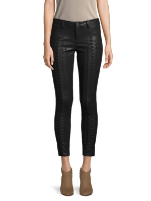 Laced Faux Leather Pants by Blank Nyc