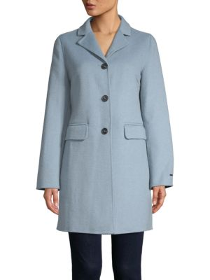 Sophia Single Breasted Peacoat by T Tahari