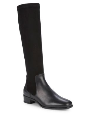 Lina Leather & Suede Tall Boots by Aquatalia