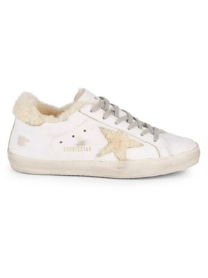 superstar-shearling-lined-sneakers by golden-goose-deluxe-brand