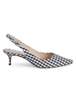 Daria Checkered Pumps by Saks Fifth Avenue