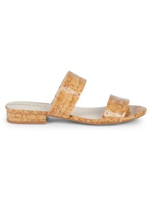 Cork Double Strap Sandals by Kenneth Cole New York