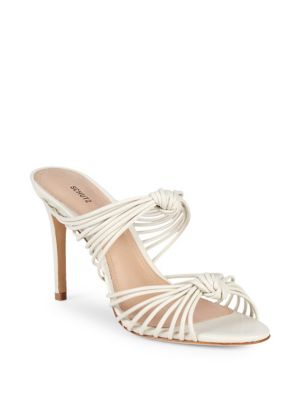 Chandra Strappy Leather Sandals by Schutz