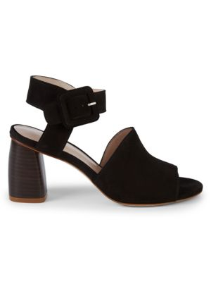 Savvy Side Buckle Leather Sandals by Stuart Weitzman