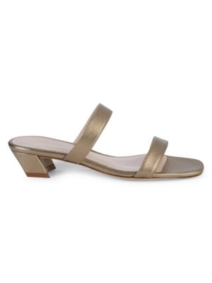 Ava Leather Heeled Sandals by Stuart Weitzman
