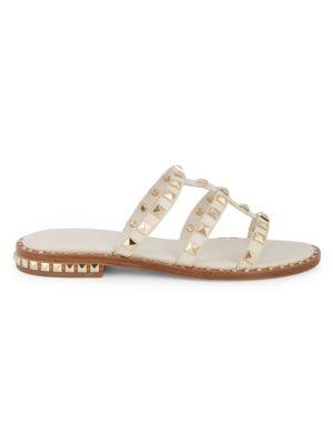 Pop Studded Slide Sandals by Ash