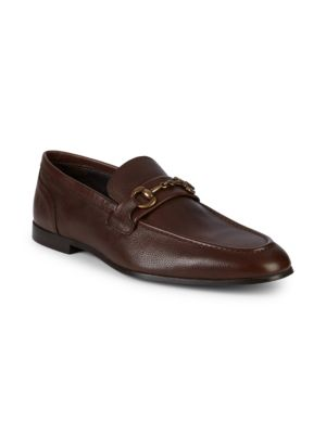 Nile Snaffle Bit Leather Loafers by To Boot New York