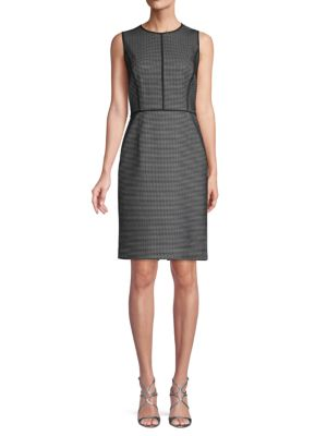 Bree Jacquard Sheath Dress by Lafayette 148 New York