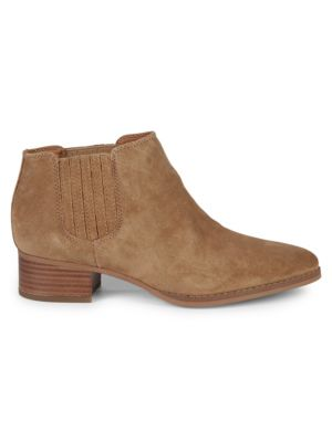 Seville Leather Booties by Franco Sarto
