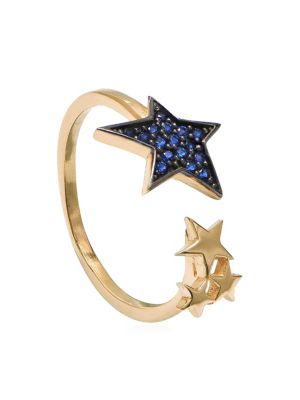 Cubic Zirconia Adjustable Star Ring by Gabi Rielle