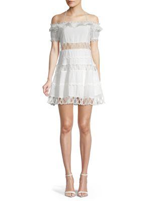 off-the-shoulder-cotton-midi-a-line-dress by haute-rogue