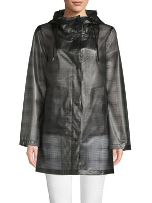 Plaid Raincoat by French Connection