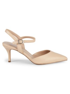Ailey Faux Leather Ankle Strap Pumps by Charles By Charles David