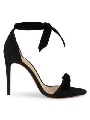 Clarita Ankle Tie Suede Leather Sandals by Alexandre Birman