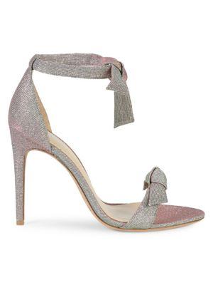 Clarita Metallic Tie Sandals by Alexandre Birman
