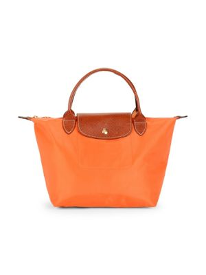 Leather Trimmed Tote by Longchamp