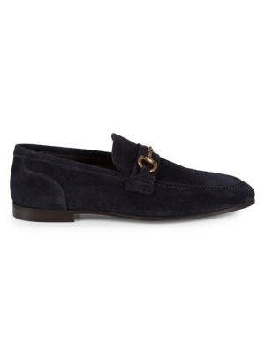 Suede Two Bit Loafers by To Boot New York