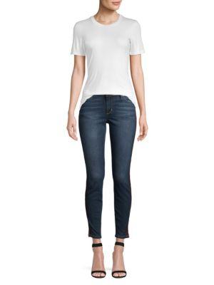 Icon Mid Rise Side Stripe Ankle Skinny Jeans by Joe's Jeans