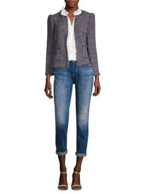 Multi Tweed Jacket by Rebecca Taylor