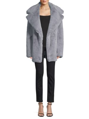 riley-faux-fur-coat by milly