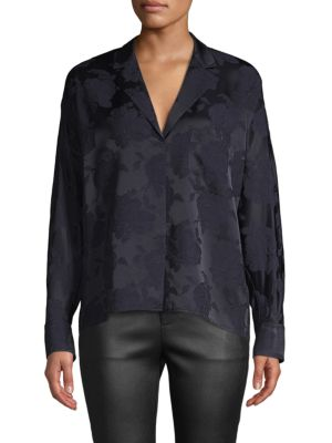 Jacquard Pajama Shirt by Vince
