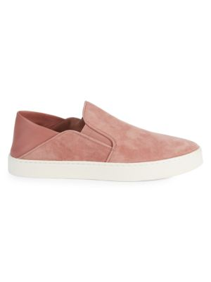 Garvey Suede Slip On Sneakers by Vince