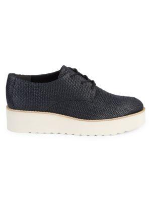 Zina Textured Platform Sneakers by Vince