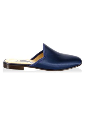 Vogue Satin Mules by Del Toro
