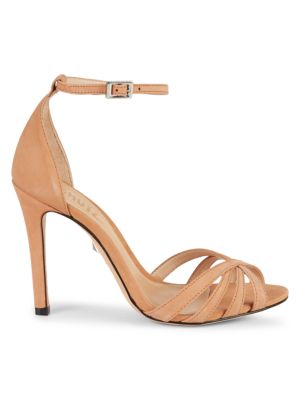 Kayoko Ankle Strap Leather D'orsay Sandals by Schutz