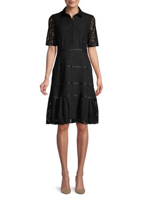 Lace Shirtdress by Nanette Nanette Lepore