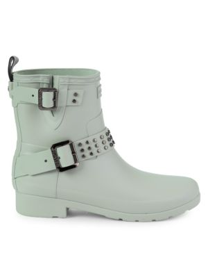 Studded Rubber Rain Boots by Hunter