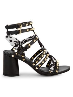 Juna Studded Strappy Sandals by Ash