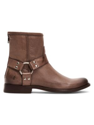 Philip Harness Moto Boots by Frye
