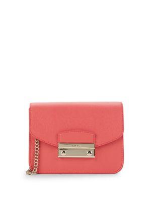 Julia Mini Leather Crossbody Bag by Furla
