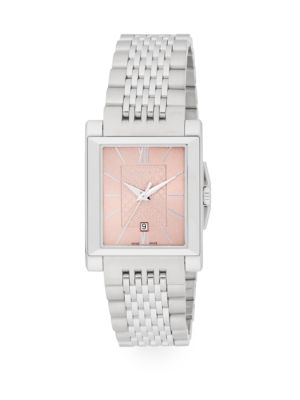 Stainless Steel Watch by Gucci