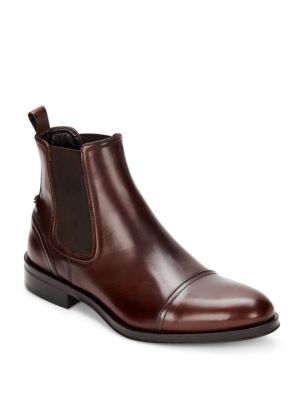 Chelsea Leather Boots by Roberto Cavalli