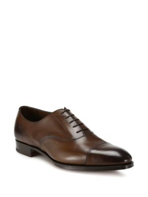 Chelsea Cap Toe Oxfords by Edward Green