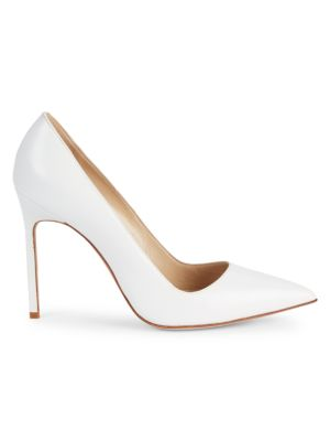 Bb 105 Leather Point Toe Pumps by Manolo Blahnik
