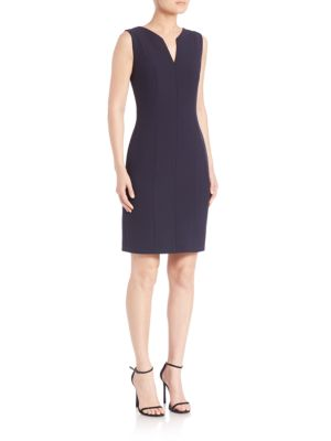 Blurred Focus Sheath Dress by Hugo Boss