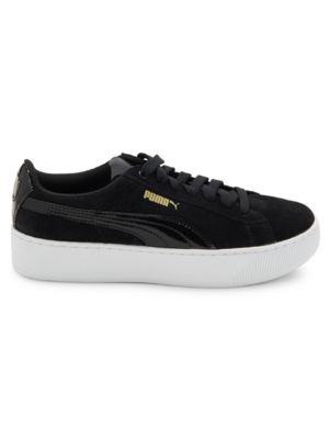 Logo Embossed Lace Up Sneakers by Puma