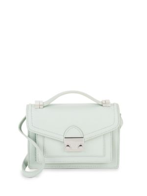 Rider Mini Leather Satchel by Loeffler Randall