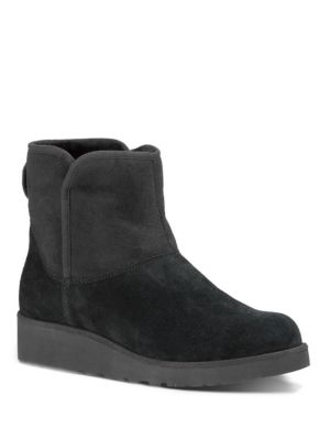Kristin Slim Short Sheepskin Wedge Boots by Ugg Australia